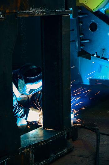 Engeneering Working Industry Factory Metal Minsk Belarus Metal Industry One Person Minsk,Belarus Travel