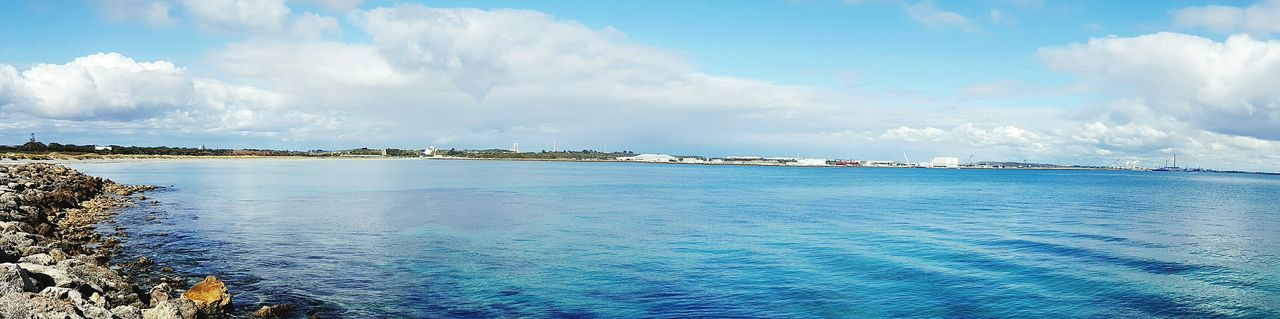 sky, sea, cloud - sky, water, scenics, tranquil scene, tranquility, beauty in nature, nature, no people, day, outdoors, blue, nautical vessel, horizon over water