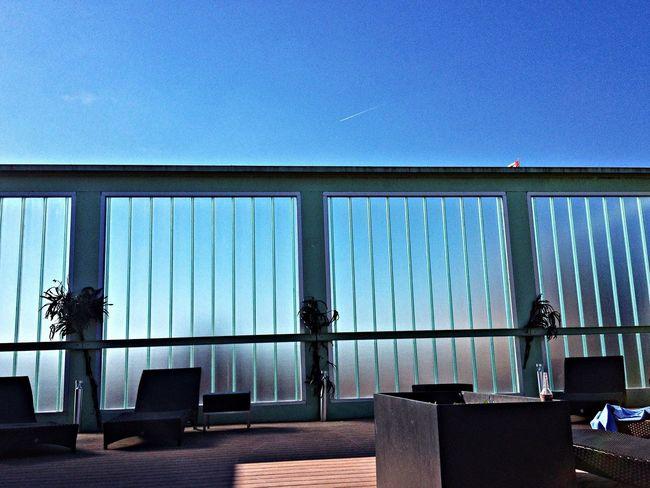 Lines Sky Blue