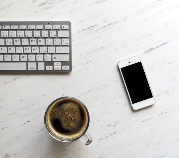 Close-up Coffee - Drink Coffee Cup Computer Computer Keyboard Diary Drink Internet Keyboard Laptop Mobile Phone Smart Phone Table Technology