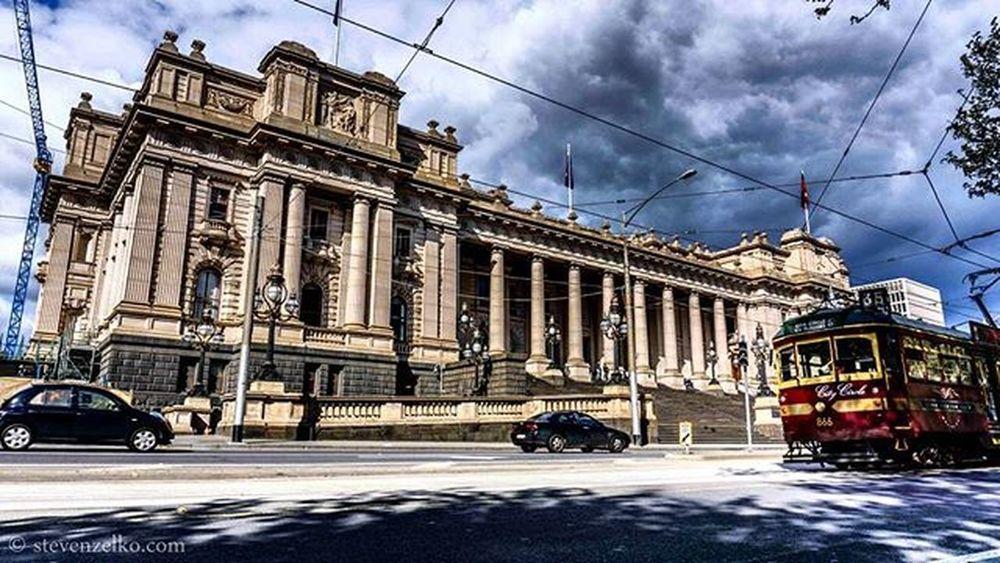 Parliamenthouse Victoria Australia Melbourneiloveyou