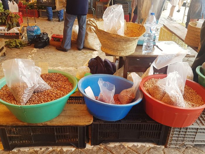 Market Retail  Food Food And Drink For Sale Market Stall Freshness Healthy Eating Occupation Outdoors Day Grains Pulses Beans Natural Large Group Of Objects Abundance Freshness Retail  Farmers Market Local Market Variation