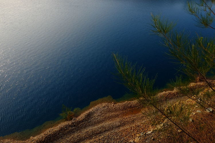 Blue Lake Nature Water No People Tranquility Lake Outdoors Day Beauty In Nature Landscape Scenics EyeEmNewHere