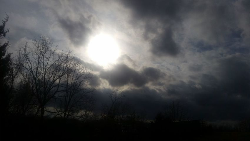 Missouri Ozarks United States Nature Outdoors Sun Sunlight Cloud - Sky Tree Beauty In Nature No People Storm Cloud Day Sky