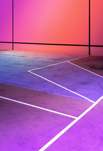 Purple Pink Orange Colorfull Colors Angles Lines And Shapes Lines Sports Basketball Playground Sport No People Sunset Purple Outdoors Pink Color Track And Field Pattern Architecture The Week On EyeEm Editor's Picks