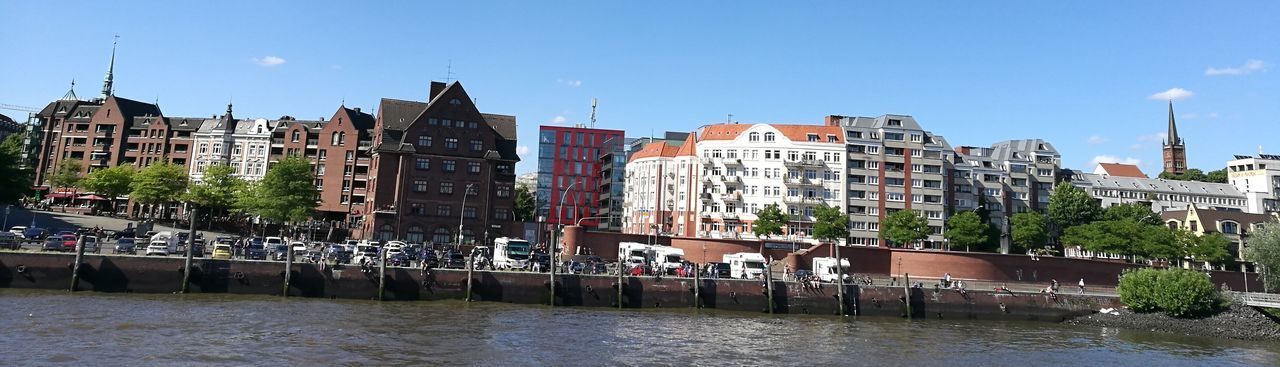 Elbe Harbour View Water City Building Exterior Day Outdoors Architecture Modern Hamburg Hamburgmeineperle Waterfront