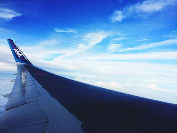 From An Airplane Window Traveling Blue Sky Morning Airplane Sky Clouds And Sky EyeEm Best Shots