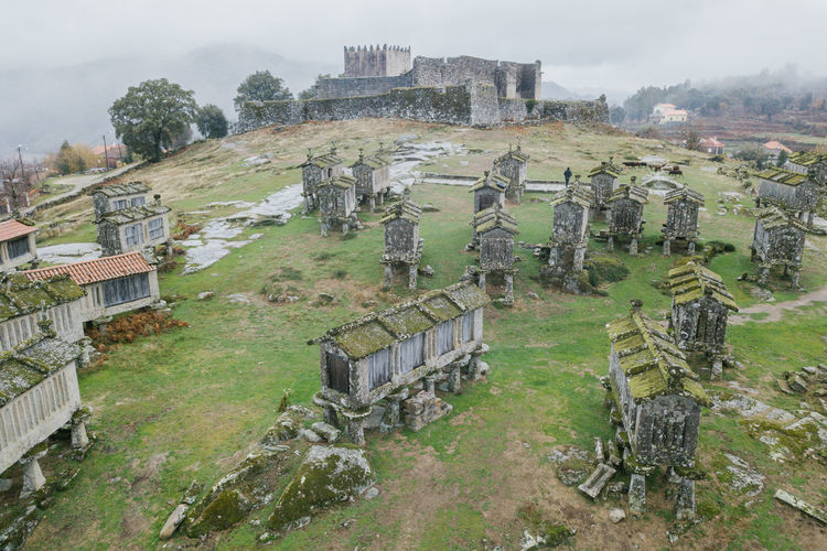 Arcos de Valdevez / Lindoso / Peneda Geres / Ponte da Barca / A Senhora Do Monte Arcos De Valdevez DJI Mavic Pro DJI X Eyeem Drone  Lindoso Peneda-Gerês National Park Aerial Aerial View Ancient Ancient Civilization Architecture Bad Condition Building Exterior Built Structure Castel Castle Cemetery Damaged Day Dji Dronephotography Grass Gravestone Graveyard History Memorial Nature No People Old Old Ruin Outdoors Ponte Da Barca Sky The Past Tree Weathered