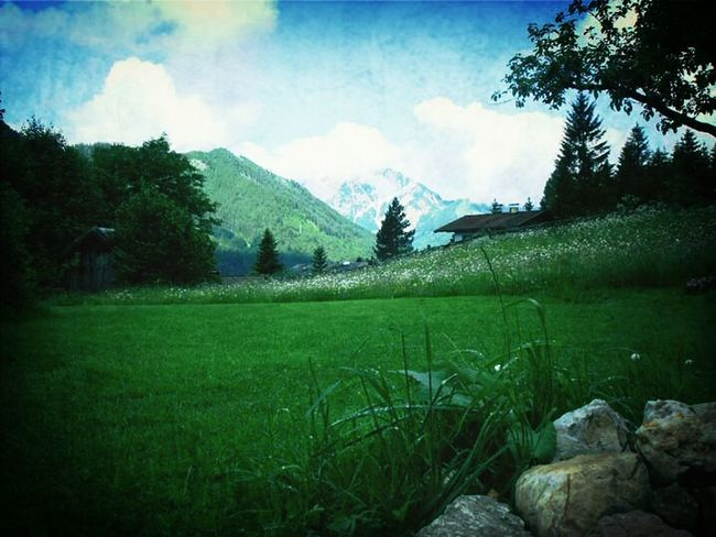 Mountains Landscape Green Landscapes Landschaft Austria The Grass Is Green Oesterreich Trecking