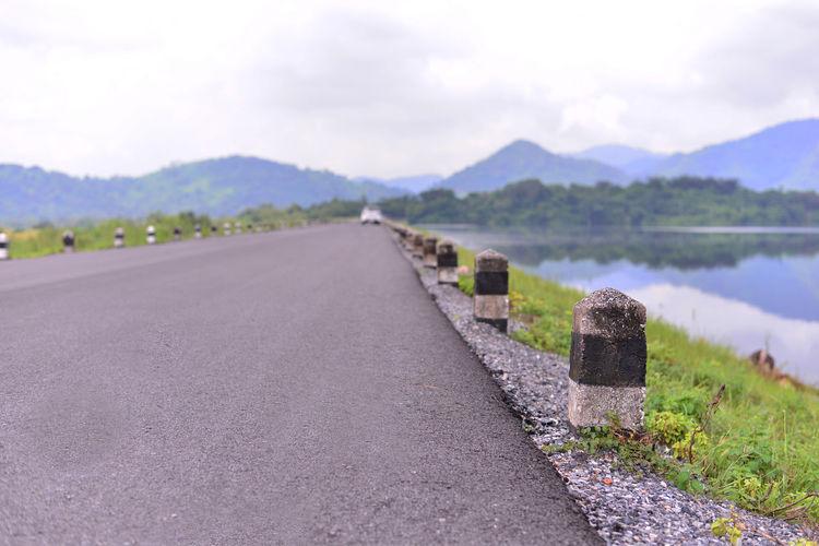 The road, black