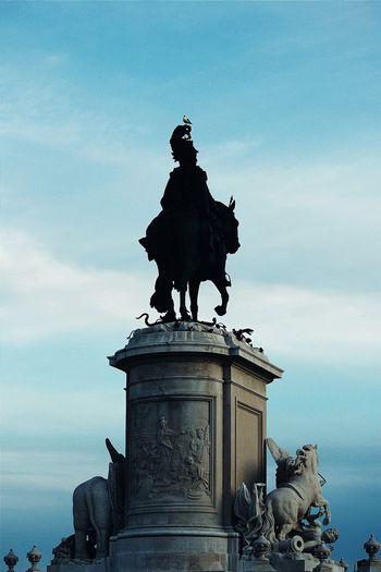 MyFavorite  Lisboa Portugal Lisbon Statue VSCO Vscocam Vscofilm Vscodaily Vscogood