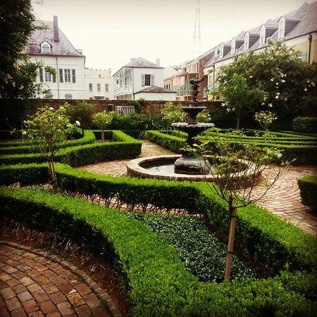 Beauregard Keyes Courtyard  NOLA Frenchquarter Giacona