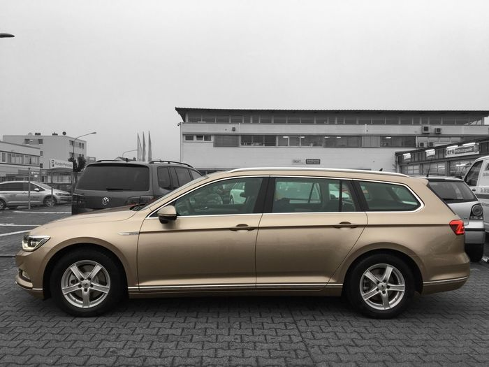 …got me a golden Passat & now off to Schwalmstadt.