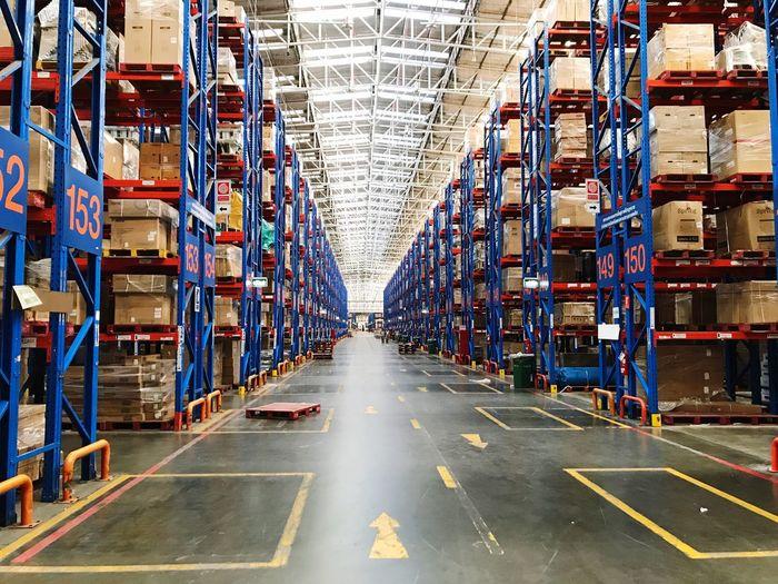 warehouse Warehouse Transportation Shipping  Distribution Warehouse