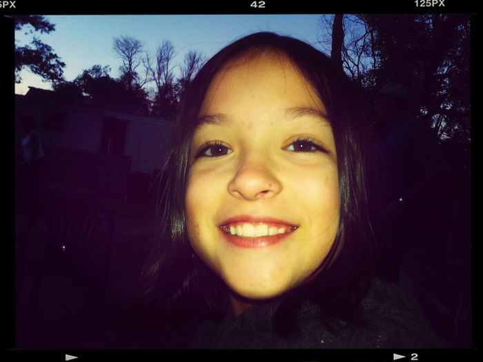 Elianna looking pretty!