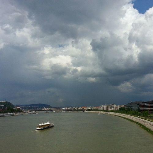 Zivatarok Budapest körül - 2014.05.28.