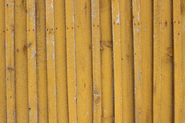Full frame shot of yellow wall