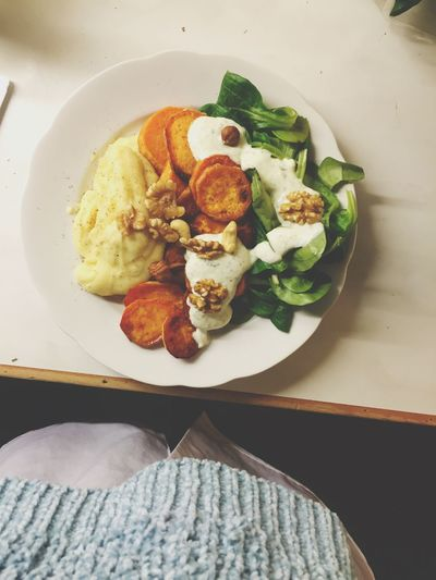 Lovely Vegan Veganfoodporn Veganlove Veggies Salad Sweetpotato Foodphotography