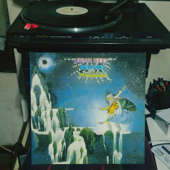Uriah Heep Demons And Wizards 1972
