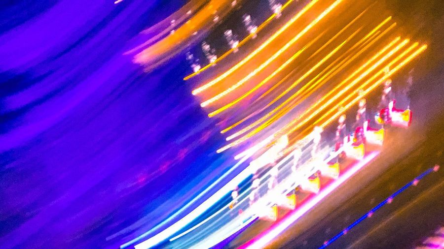 Illuminated Multi Colored Night Long Exposure Abstract Full Frame Blurred Motion Backgrounds Motion Nightlife Technology Arts Culture And Entertainment Indoors  Neon Close-up No People Disco Lights