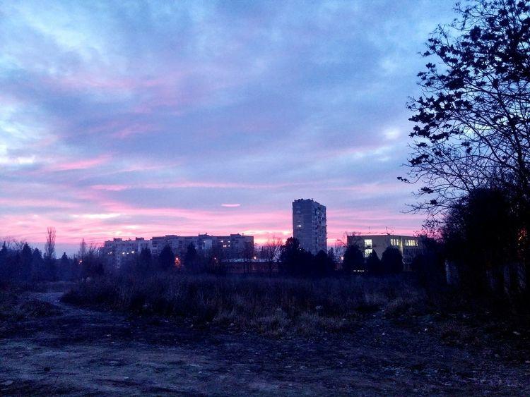 Architecture Cloud - Sky Dramatic Sky Sunset Urban Skyline Sky Illuminated