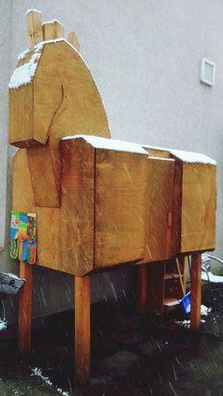 I've found the Trojan horse Mythology Greece Brunswick Germany