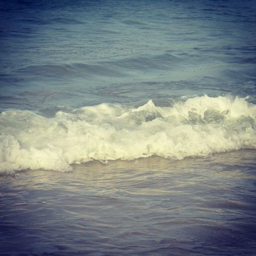 Sea Wave Beauty In Nature Water Nature No People Motion Power In Nature Scenics Day Outdoors Horizon Over Water