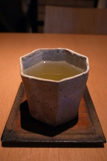 Green Tea Soba Soba Noodles Pottery 緑茶 陶器 Tea Cup Ricoh GRD III 蕎麦屋に行ったわけですが!器が凄く気にいった!