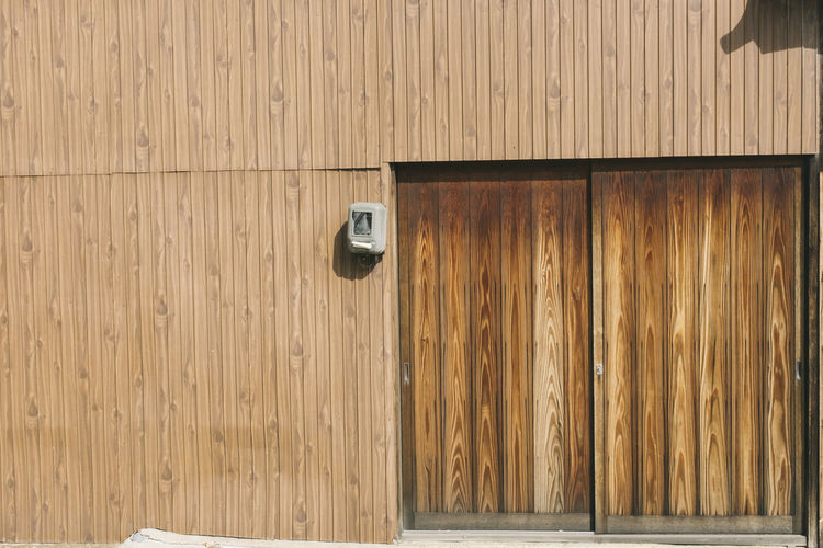 No People Day Wood - Material Safety Security Pattern Protection Brown Door Entrance Indoors  Backgrounds Close-up Full Frame Built Structure Wood Architecture Wall - Building Feature Security Camera Wood Grain Latch