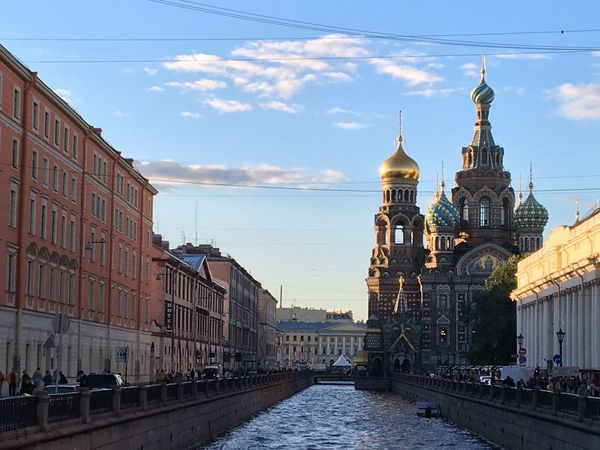 Church of the Savior on Spilled Blood Architecture Place Of Worship Building Exterior Stpetersburg