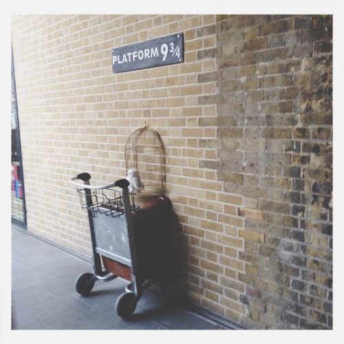 Harry Potter King´s Cross Platfo 9 3/4 London