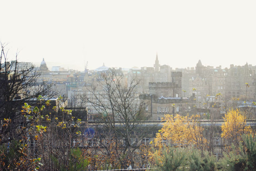 Architecture City City City Life Cityscapes Clear Sky Day Edinburgh Landscape Outdoors Scenics Town TOWNSCAPE Tranquility View View From Above
