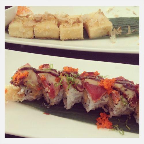 Sushi Tofu Shrimp Tempura