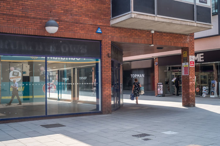 Colchester town centre. Essex Architecture Building Exterior Built Structure Colchester Day Full Length Men One Person Outdoors People Real People Town Centre Walking