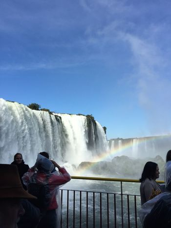 Water Waterfall Motion Splashing Scenics - Nature Sky Nature