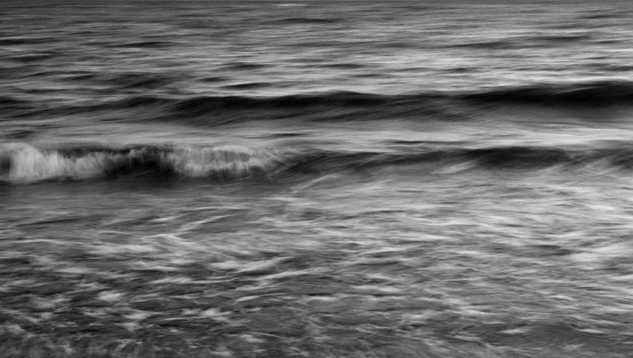 Atmospheric Mood Black & White Blackandwhite Bw_collection Monochrome Power In Nature Seascape Seaside Tranquility Water_collection Visual Rhythms Photography In Motion Monochrome Photography