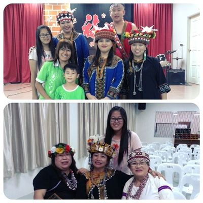 Aborigines came from Taiwan :)