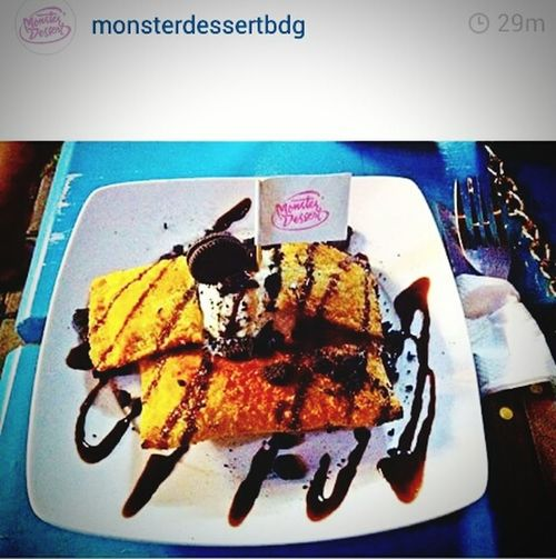 Choco Sandwich Monstert Cek ig @monsterdessertbdg Kulinerbdg Dessert Monsterdessertbdg Bdgjuara