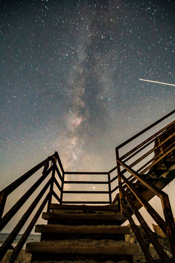 Stairway to the heavens... el matador state beach stairway in december