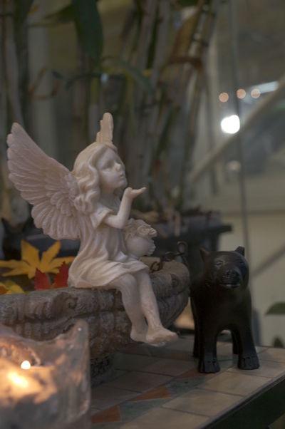 Bear Candle Doll Angel Art And Craft Decoration Sending Kisses Smallshop