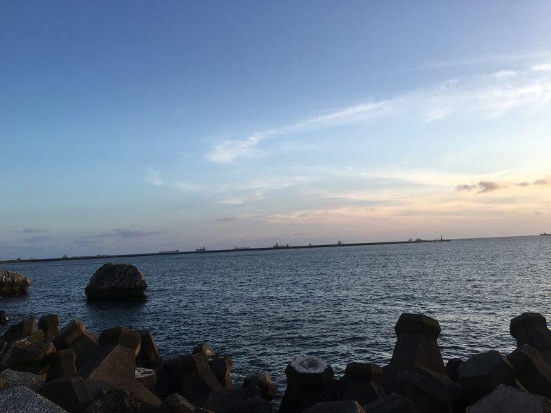 台湾 Sky Sea うみ 西子灣 中山大學 海 夕陽 Sun 太陽 晴天 たかお Taiwanese May 五月 (null)Kaohsiung 高雄 Taiwan 臺灣 Sunny