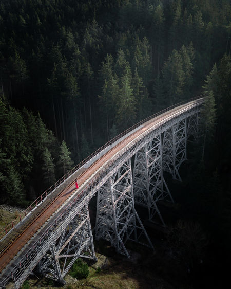 Forgotten bridge in Germany. Tree Transportation Plant Connection Bridge Bridge - Man Made Structure Rail Transportation Forest Nature Mode Of Transportation Built Structure Architecture Train Motion Railway Bridge Train - Vehicle Track High Angle View Growth Outdoors WoodLand Railway Lostplaces Thuringen Hiking The Great Outdoors - 2019 EyeEm Awards