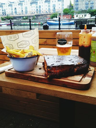 Best BBQ ribs ever! Spitfire Barbecue Ribs Bristol Harbourside