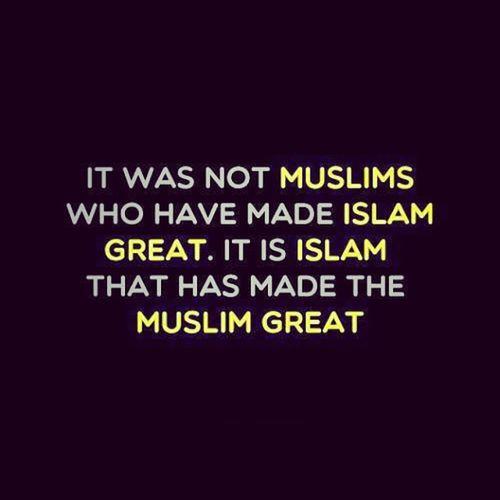 We are lost without the guidance of Allah through islam. SubhaanAllaah Mashaallaah Allhamdullilah Allaah islam beautiful THETRUTH imjustlayinginbedkillinghashtagsthatsalliknowisuckatit