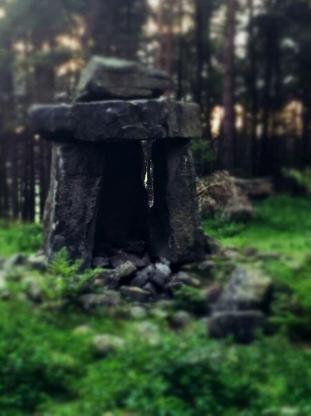 Druid's Secret Place Druids The Temple Landscape Landscapes Beyond The Forest Secret Places