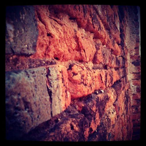 อีกมุมของกำแพงวัด