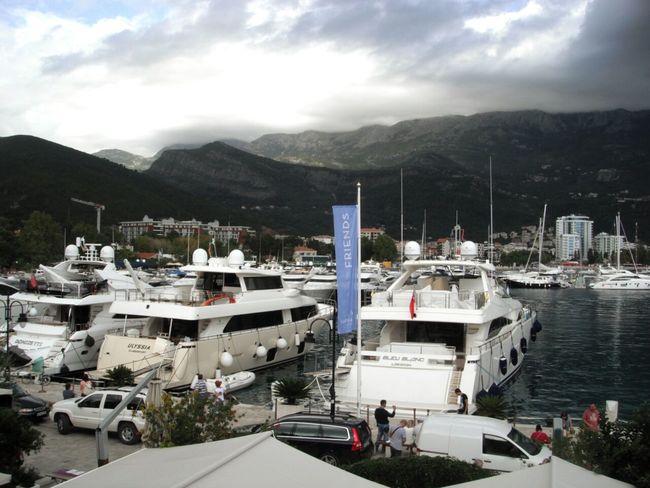 Time To Travel Budva,Montenegro Yacht Port Mountain View Sea View Evening