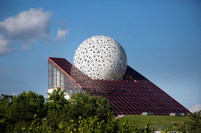 Futuroscope Theme Park Futuroscope Theme Park | Poitiers - France Futuroscope2017 Leisure Park Architecture Building Exterior Built Structure Day Growth Modern Nature No People Outdoors Sky Solar Energy Solar Panel Travel Destinations Tree