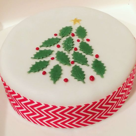 Christmastree ChristmasCake Christmas Baking Cakes Sugarcraft