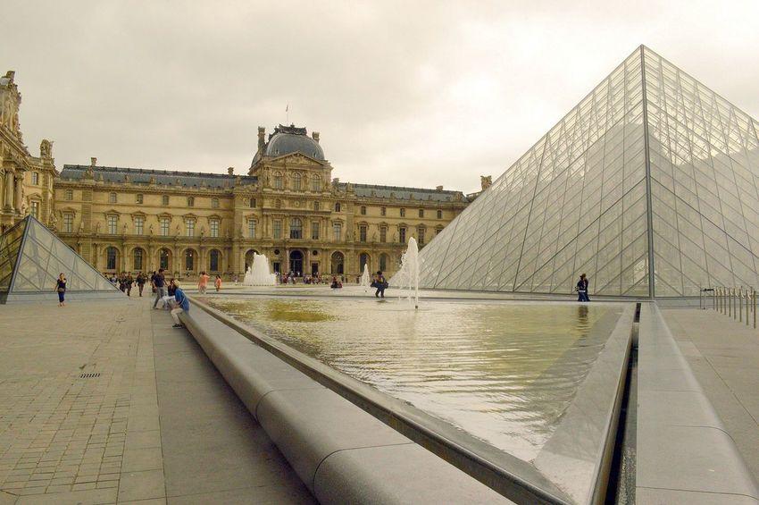 Architecture Capital Cities  Famous Place Musée Du Louvre Museum Paris Will Always Be Paris... Pyramide Du Louvre Tourism Tourist